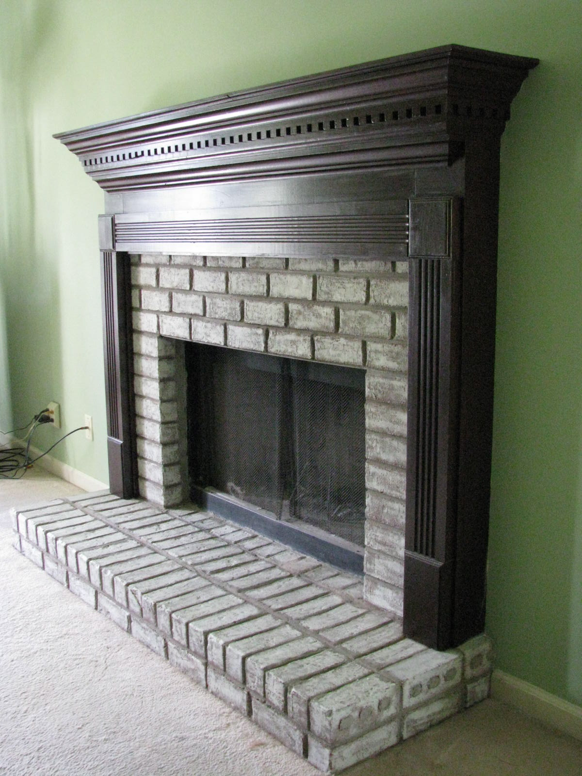 Now ... - Fireplace Facelift  