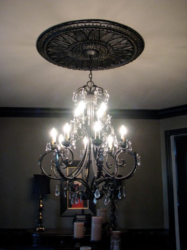 Dark light fixture