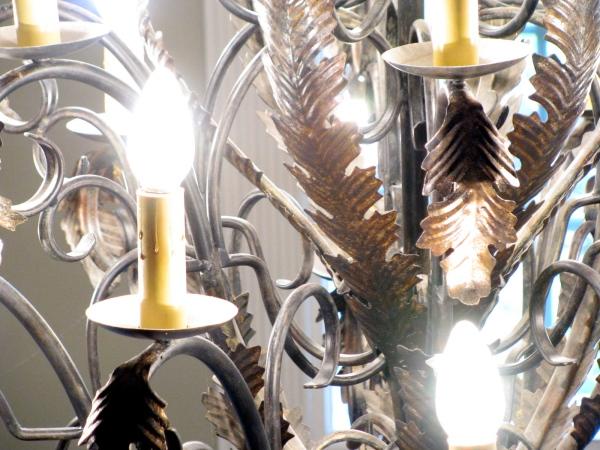 Chandelier closeup
