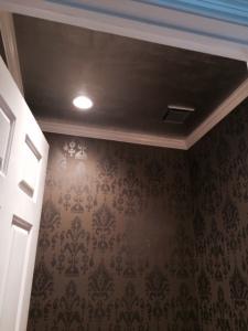 Silver Leaf Ceiling