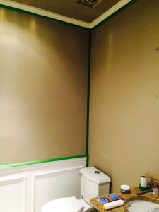Blank Powder Room