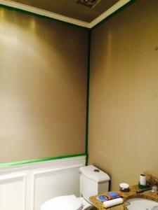 Blank Powder Room