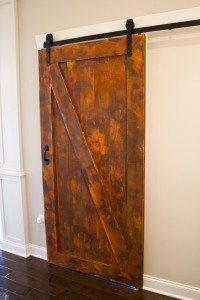 Rusted Barn Door
