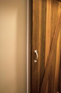 Faux Reclaimed Wood Barn Door